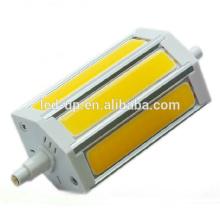 10W 118MM COB LED R7S Lâmpada