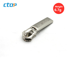 Wholesale high quality for bag metal zipper head metal zipper head custom metal zipper puller
