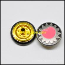 Acessórios de vestuário botão instantâneo de esmalte