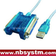 USB zu Parallel 25 Pin Kabel + USB zu Serial 25 Pin Kabel