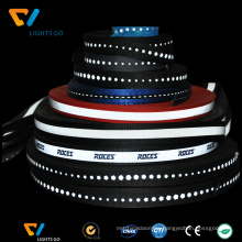 wholesale high visibility reflective piping, reflective webbing, reflective safety ribbon comply with EN471