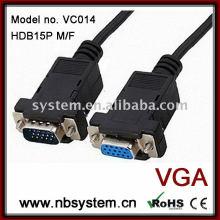 DB9 Stecker auf weibliches serielles Kabel