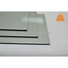 Silver Hairline Brushed ACP for Sign Making Writing Digital Printing