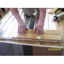 Joint d'étanchéité pour garniture en bois PU