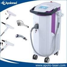 Latest Mutifunctional Elight IPL RF ND YAG Remove Tattoo Laser Platform