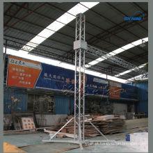Torre de elevação de treliça de alumínio de exportação de China