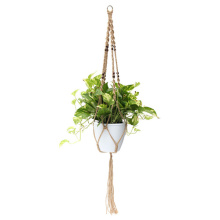 macrame maceta colgante de pared diy