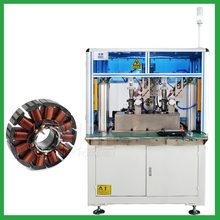 Automatic fan motor outslot stator winding machine