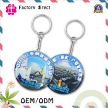 SGS Factory 50mm Custom Print Logo Tinplate Keychain Bottle Opener