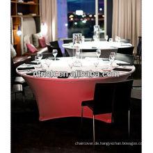 Lycra/Spandex Tischdecke, Buffet Tischdecke für Hochzeit/Bankett/Feiern