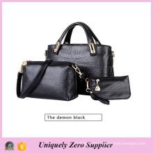 Fashion Women Messenger PU Leather Crossbody Handbags (54096)