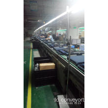 Free Flow Chain Pallet Handing Conveyors