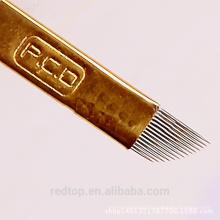 Tattoo microblading blades permanent makeup eyebrow needles