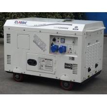 CHINE CLASSIQUE Générateur de 3 phases à durée prolongée10kva, générateur de 10kva à usage domestique, bon prix Générateur de diesel de 10 kW