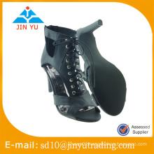 China made nice style high heel sandal 2016