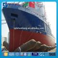 Utilisé pour l'airbag de lancement de bateau en caoutchouc de chantier naval