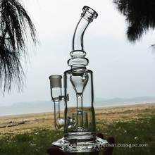 The Time Hourglass Wonderful Design Glass Smoking Water Pipes (ES-GB-266)