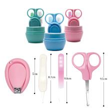Высококачественные маленькие милые детские безопасные ножницы, машинка для стрижки ногтей, набор для ухода за маникюром, набор для ухода за безопасным резаком