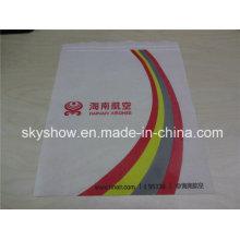 Impresión personalizada Airline funda de almohada no tejida (SSC1004)