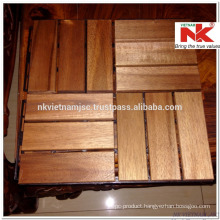 High Quality Deck Tiles - Long Lasting Outside by Oil Coating