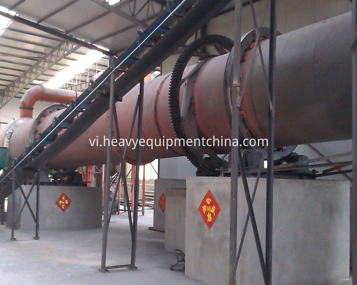 Rotary Dryer For Biomass