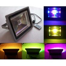 Luz de inundación de calidad superior de la prenda impermeable IP65 RGB de la luz de inundación de 50W RGBW LED para el jardín