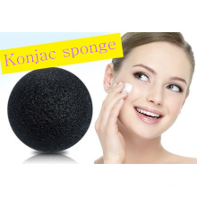 Best Seller Konjac Sponge Charcoal Bamboo Facail Konjac Sponge on Amazon