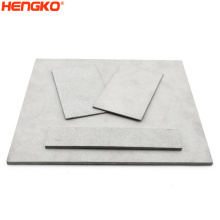 Heat Resistance SS316L Porous Stainless Steel Sintered Filter Plate For Pharmaceutical Industry