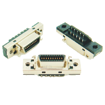 1,27 mm serie 20-pins kabelconnector