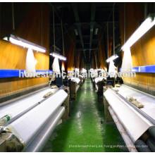 China telar de chorro de aire que teje la tela de algodón con telar jacquar