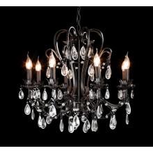 Elegant Retro Industrial Pendant Lamp with Crystal Drop (cos9228)