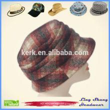 New Style Lady Woman Woolen Blend Fashion Hat Bucket Hat