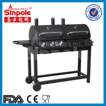 3in1 Charcoal Gas BBQ Grill with Ce Approved (KLD5003)