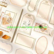 Memo Paper for Decoration and Handbook Background Decorating