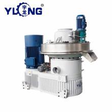 Yulong EFB powder pellet machine malaysia