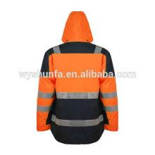 3M лента Поли хлопок Светоотражающая защитная куртка