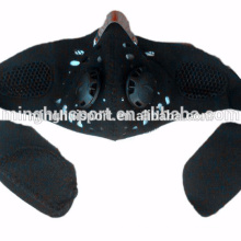 Máscara facial da motocicleta dustproof com a máscara de poeira do motocross do filtro que monta a máscara