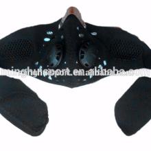 Мотоцикл лицо пылезащитная маска респиратор с фильтром мотокросс езда маска