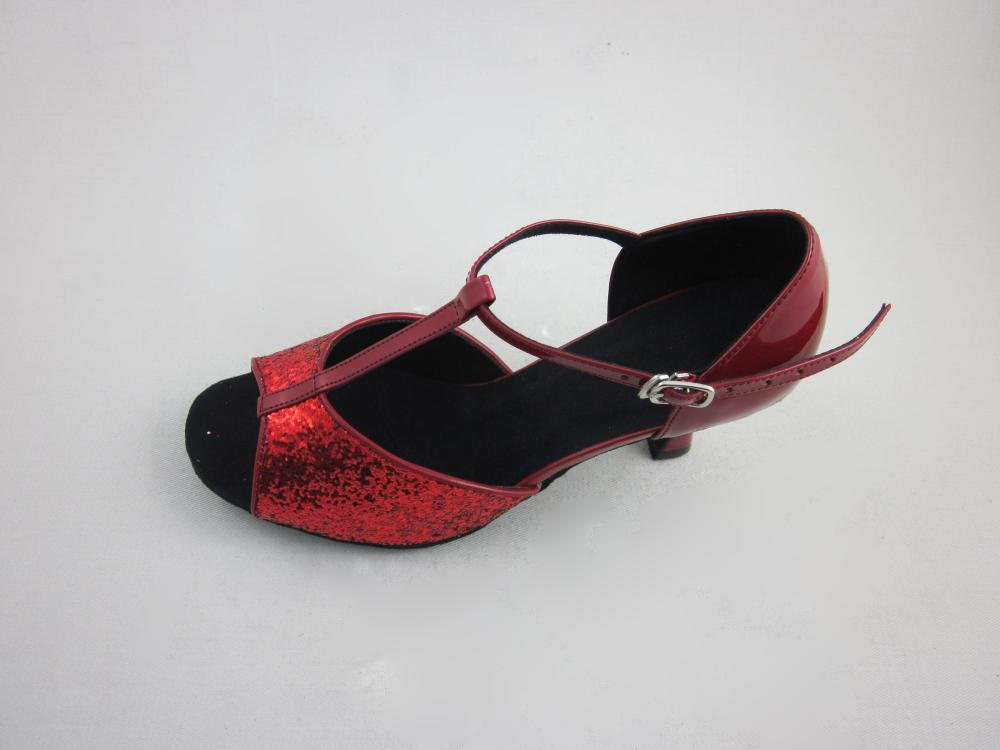 T Bar Ladies Salsa Dance Shoes