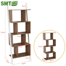 new style simple modern wooden round shallow bookcase