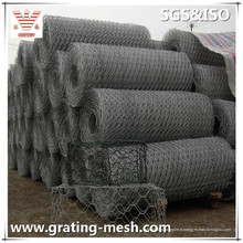 Gabion galvanisé de Gabion / Gabion de maille d'acier / Gabion tissé avec des tailles