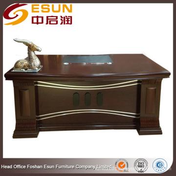 Round edge elegance boss modern director office table design