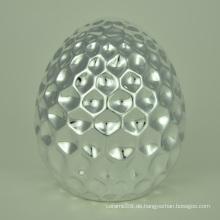 Verschiedene Stile Galvanische Silber Ei Form Ostern Geschenke