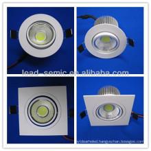 100mm diameter LED downlight COB10W