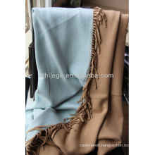 Pure Cashmee knitting bed throws blankets