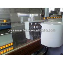 Máquina de chanfradura de vidro de linha reta YMLC261 com 9 cabeças de motor