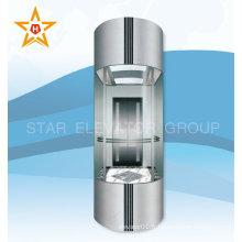 Centre commercial Miroir en verre miroir ascenseur matériel de construction