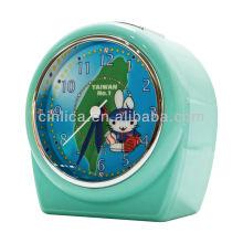 Mouvement de réveil, horloge de bureau, horloge de table, réveil de projecteur de lumière uniforme de brevet CK-503