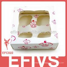 2013 Proveedor del embalaje de la caja de la torta de la taza
