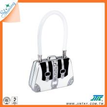 Fancy Cable 3 Digit Password Padlock ; Handbag Padlock